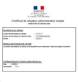 certificat non gage voiture certificat de non gage en ligne officiel