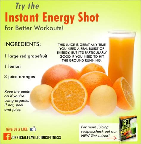 energy healthy juice instant recipes drinks foods juicing workout natural shot recipe pre detox flaviliciousfitness try workouts juicer cleanse boost