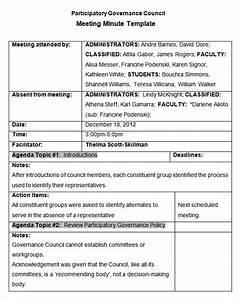 24  Meeting Minutes Templates