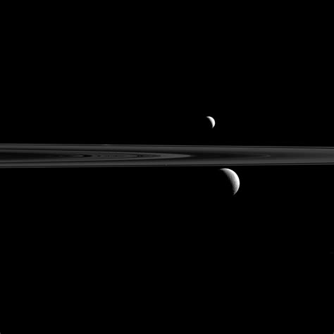 Saturn's Moons Appear in New NASA Image | Time
