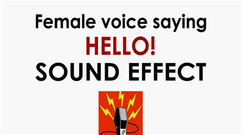 hello ringtone female voice without music