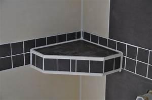 Badezimmer Selber Fliesen : geflieste ablage in der dusche bad pinterest ablage ~ Michelbontemps.com Haus und Dekorationen