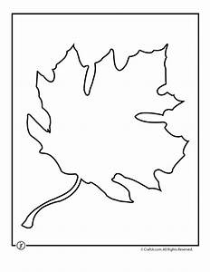 oak leaf template printable az coloring pages With autumn leaf template free printables