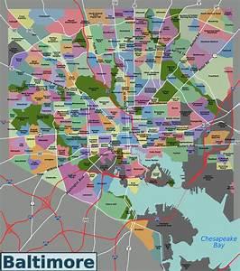Baltimore City Zoning Map - Baltimore Zoning Map  Maryland