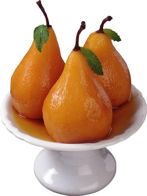 dessert poires au sirop