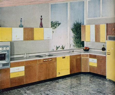 I Can't Get Enough of 1950s Kitchens Hooked on Houses