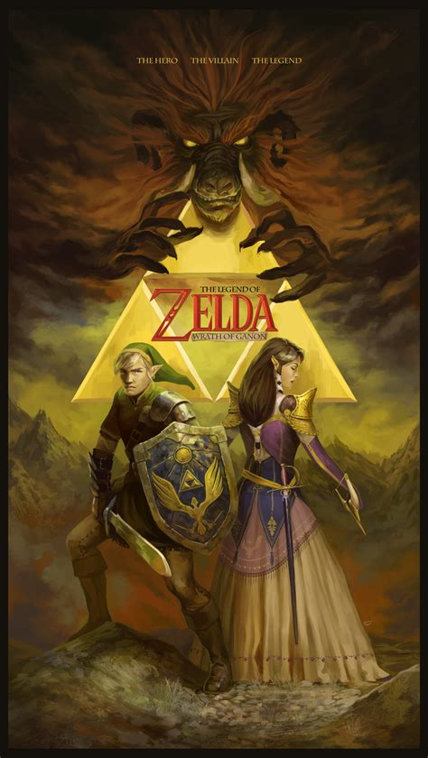 The Legend Of Zelda By Agentscarlet On Deviantart