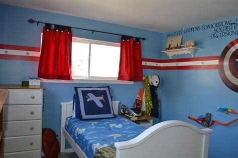 captain america bedroom captain america room for boys my s new room captain