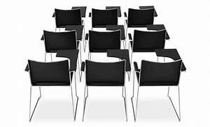 Stuhl Mit Schreibplatte : stuhl mit sockel aus stahlrohr mit schreibplatte idfdesign ~ Frokenaadalensverden.com Haus und Dekorationen