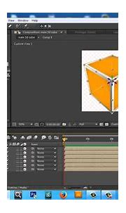 after effects tutorial how to create 3d cube in after ...