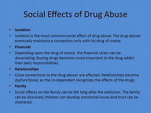 effects of teenage drug abuse essay