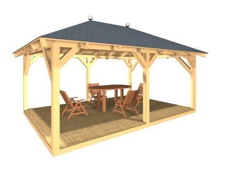 Dach Für Holzpavillon by Holzpavillon Gartenpavillon Kvh Pavillon Garten