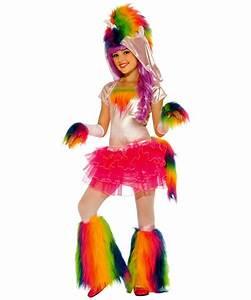 Rainbow Unicorn Kids Halloween Costume - Girls Costumes