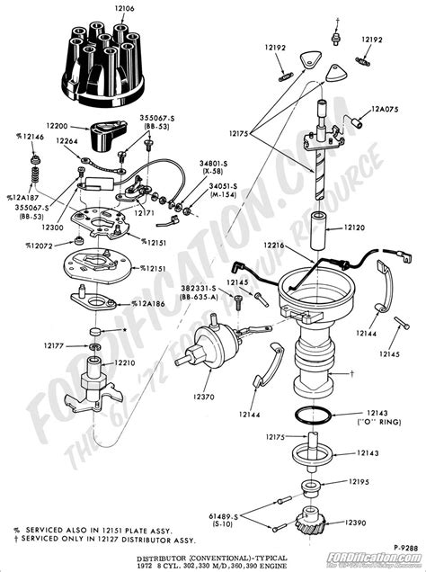 Diagram For 390 Engine Timing by Ford 351 Firing Order Diagram Wiring Diagram