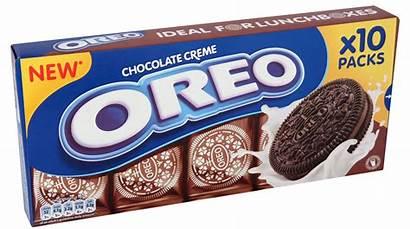 Oreo Pack Snack Creme Chocolate Ten Packs