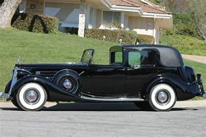 1937 Packard Twelve Lebaron All Weather Cabriolet Town Car