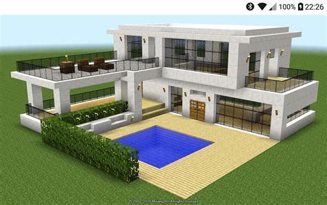 modern minecraft house design ideas  android apk