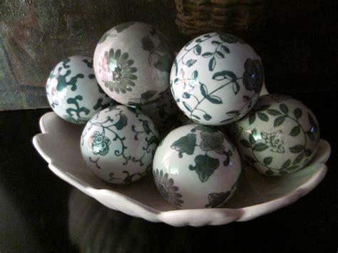 Modernist Ceramic Decorative Balls For Sale Antiquesm
