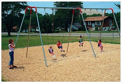 Heavy Duty Modern Swings  Playground Equipment For