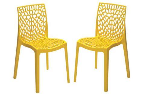 lot de chaises de jardin pas cher coussin chaise de jardin pas cher maison design bahbe com