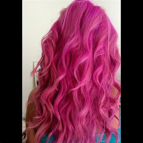 Ion Lavender And Rose With Mp Hot Hot Pink Hair Colors Ideas