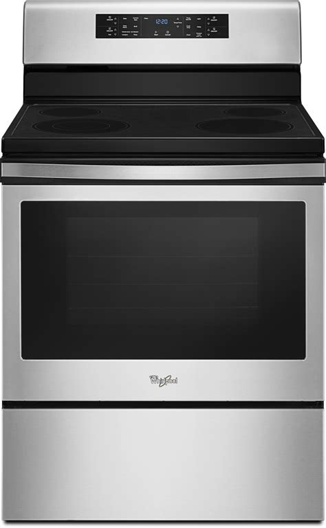 Whirlpool WFE520S0FS 30 Inch Electric Range with 5.3 cu