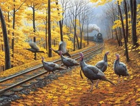 turkey tracks  piece jigsaw puzzle