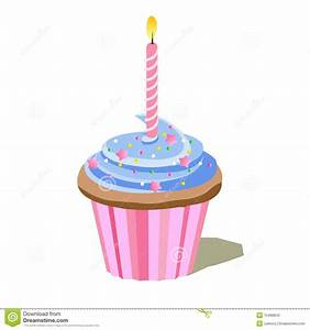 1st Birthday Cupcake Clipart - Clipart Suggest