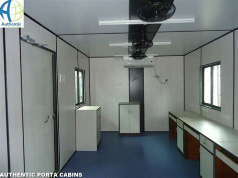 portable cabin interiors customized site office cabins