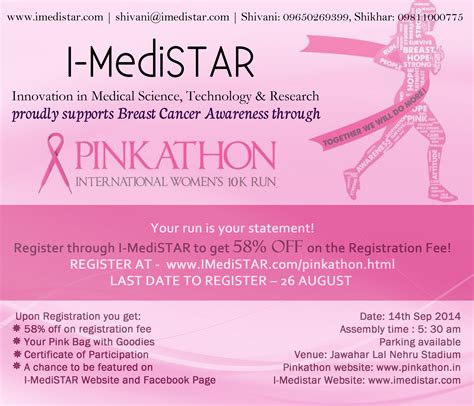Breast Cancer Awareness Pinkathon I Medistar