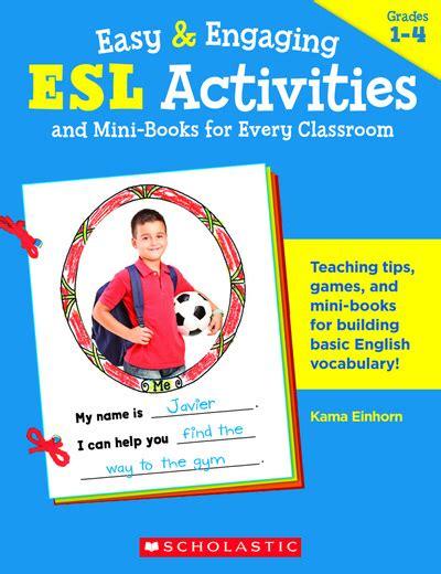 easy engaging esl activities  mini books