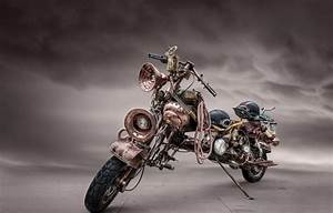 Wallpaper motorcycle, steampunk, bike images for desktop