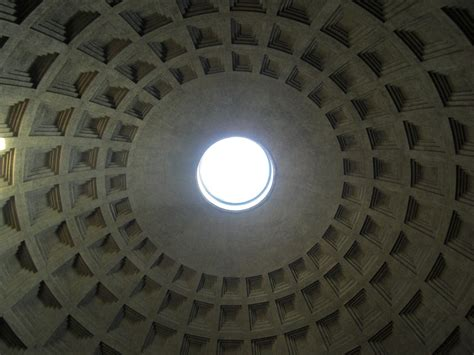 cupola pantheon roma free photo pantheon domed roof dome rome free image