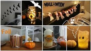 Idée Pour Halloween : diy automne halloween 6 diy faciles pour d corer votre chambre youtube ~ Melissatoandfro.com Idées de Décoration