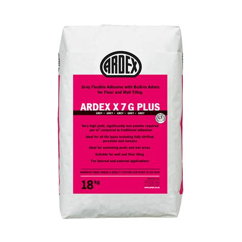 Ardex Fliesenkleber X7g Plus by Ardex X7g Plus Pdf