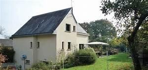 la meziere extension bruno jouanny architecte With surface d une maison 4 toitures monopentes et volumes simples pour cette