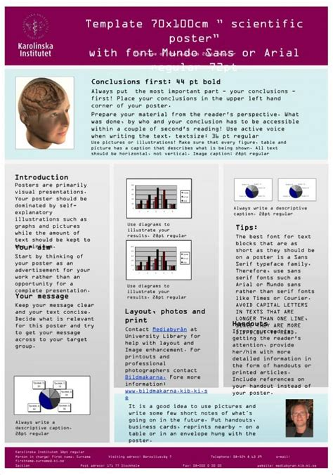 powerpoint research poster template scientific research poster template powerpoint
