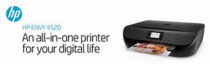 Hp Envy 4520 Wireless All-in-one Inkjet Printer