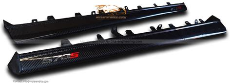 Mclaren 540c Modification by Mclaren 540c Side Skirt In Carbon Fiber