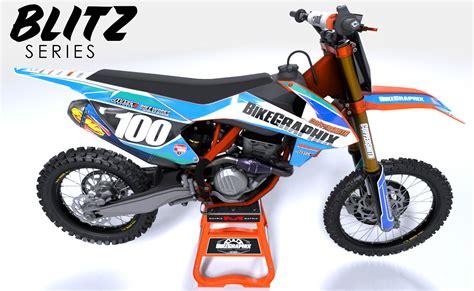 graphics for motocross bikes ktm semi custom dirt bike graphics