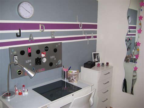 peinture chambre prune et gris cheap enchanteur bureau chambre ado fille image chambre