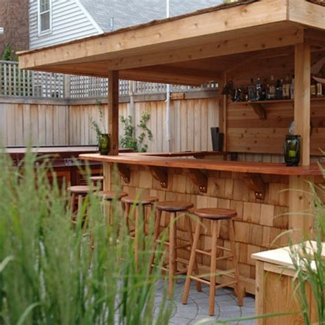 Backyard Bar Designs by 20 Creative Patio Outdoor Bar Ideas You Must Try At
