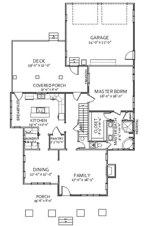 Craftsman Style House Plan 3 Beds 2 5 Baths 2196 Sq/Ft