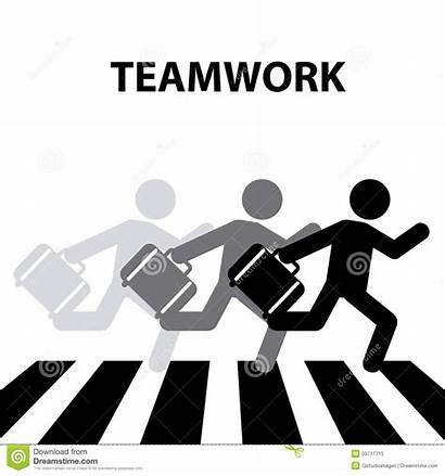 Crosswalk Teamwork Graphic