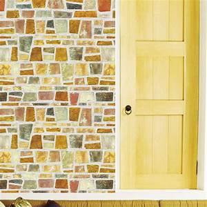 Tapeten In Brauntönen : tapete selbstklebend dekofolie feldstein mosaik 50x100cm wanddeko abwischbar ebay ~ Sanjose-hotels-ca.com Haus und Dekorationen