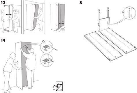 Ikea Bed Gebruiksaanwijzing by Ikea Aspelund Garderobekast Handleiding Nazarm