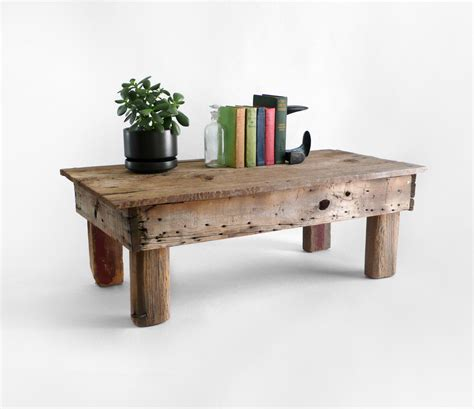 13 Most Inspirational Rustic Wood Coffee Table Ideas For