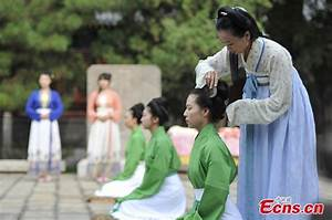 Traditional adult ceremony held in Taiyuan, Shanxi (4/5 ...