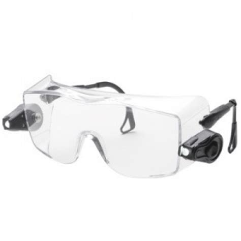 safety glasses with led lights ao safety light vision over the glass anti fog safety