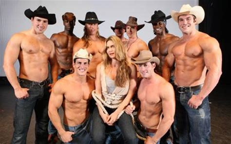 Chip N Dale Dancer by The Chippendales Are Slick Buff And Driving Women Wild